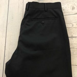 Zanella Todd W33 x L30 Black Wool Dress Pants